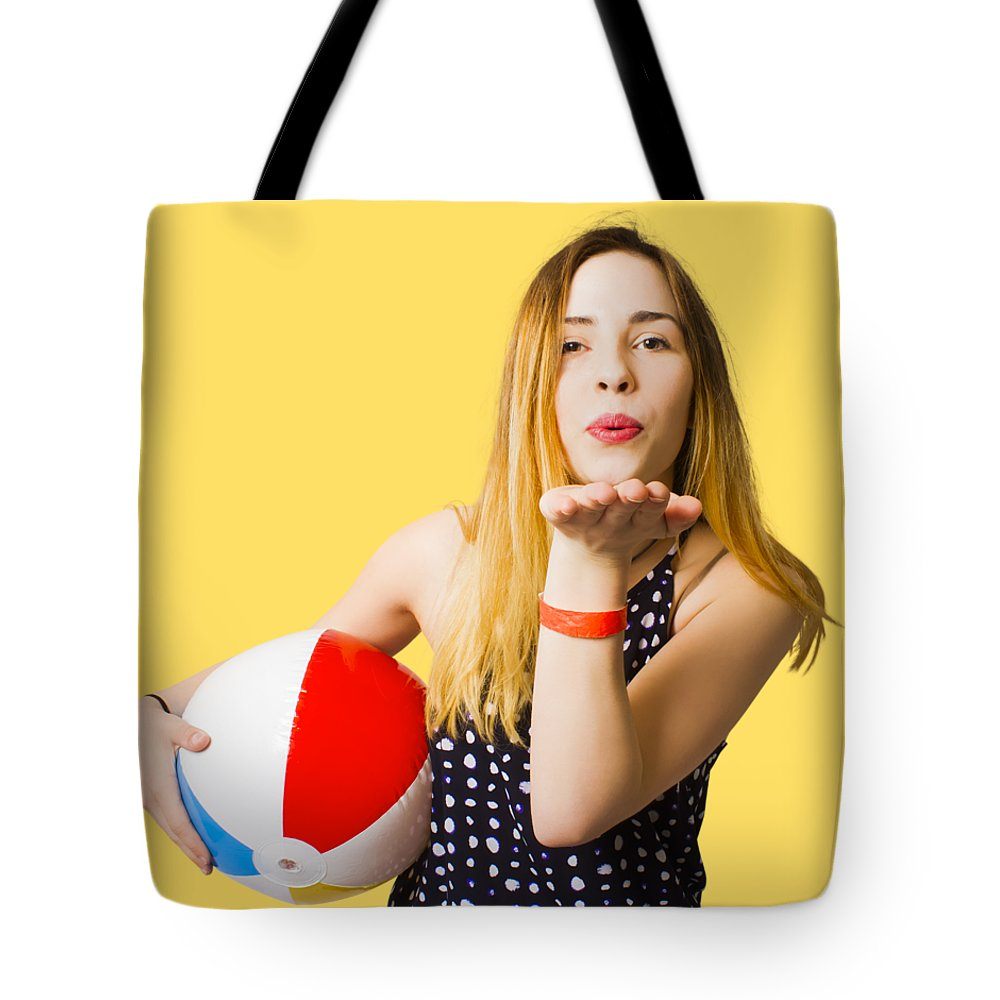 Summer Tote Bag featuring the photograph Summer And Beach Love by Jorgo Photography - Wall Art Gallery