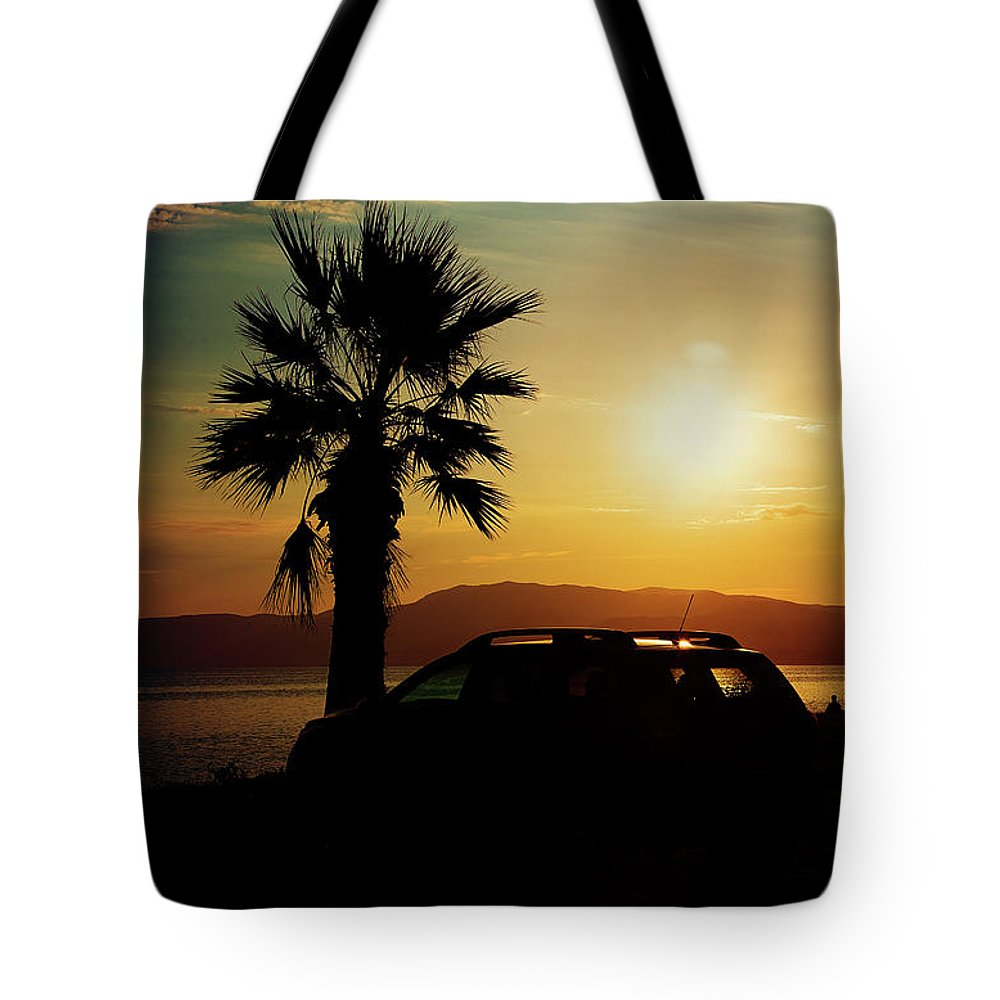 Landscape Tote Bag featuring the photograph Summer Life by Milena Ilieva