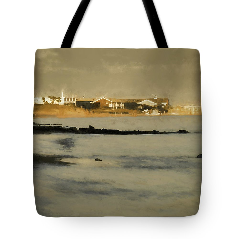 Tote Bag featuring the digital art Summer On Cape Cod Xii by Tina Baxter