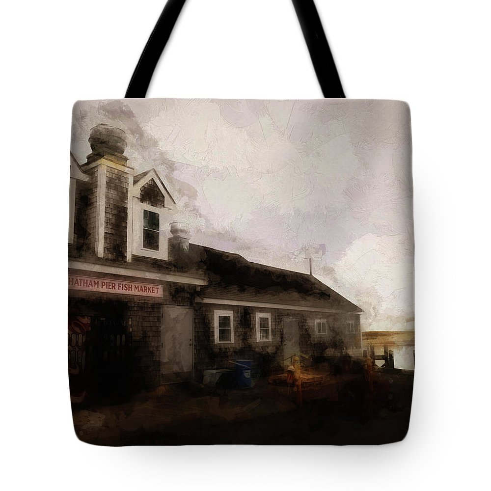 Tote Bag featuring the digital art Summer On Cape Cod Xxviii by Tina Baxter
