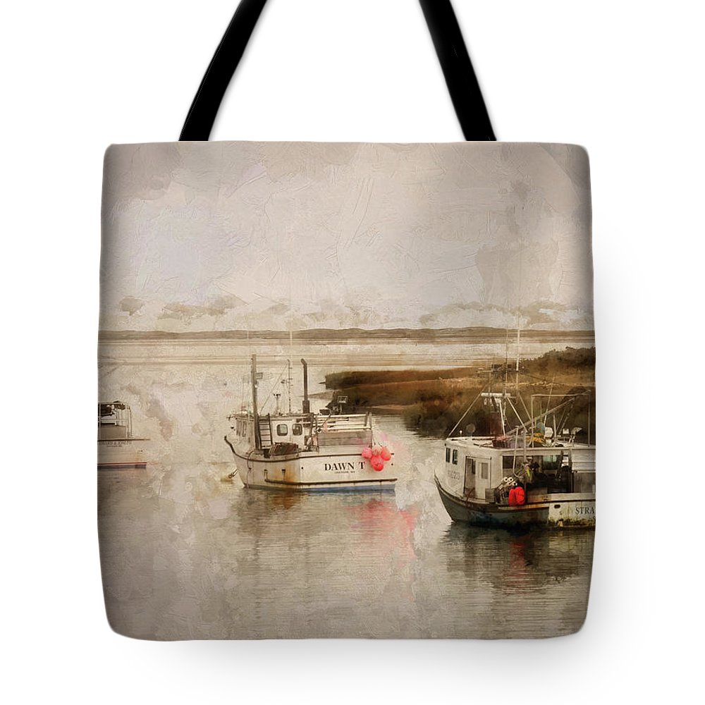 Tote Bag featuring the digital art Summer On Cape Cod Xxxiv by Tina Baxter