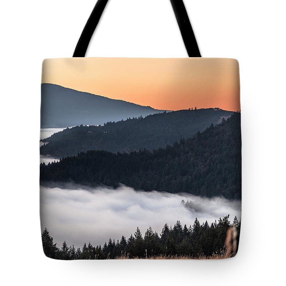 Humboldt Tote Bag featuring the photograph Sunrise by Jillian Butolph