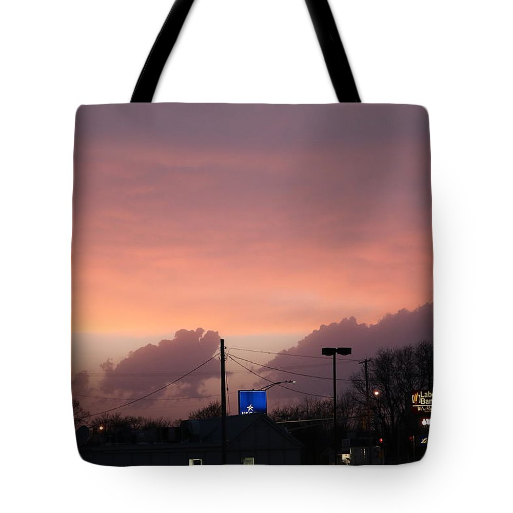 Sunset Tote Bag featuring the photograph Sunset 6 by Peter McCallum