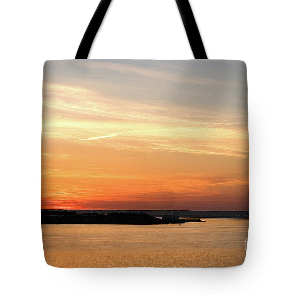 Majorca Tote Bag featuring the photograph Sunset, Bay Of Palma by John Edwards