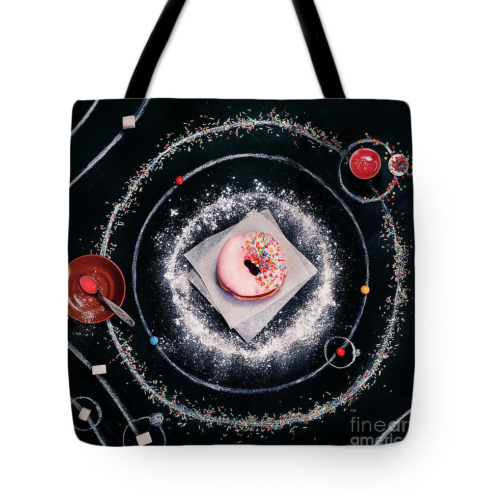 Breakfast Tote Bag featuring the photograph Sweet Solar System by Dina Belenko