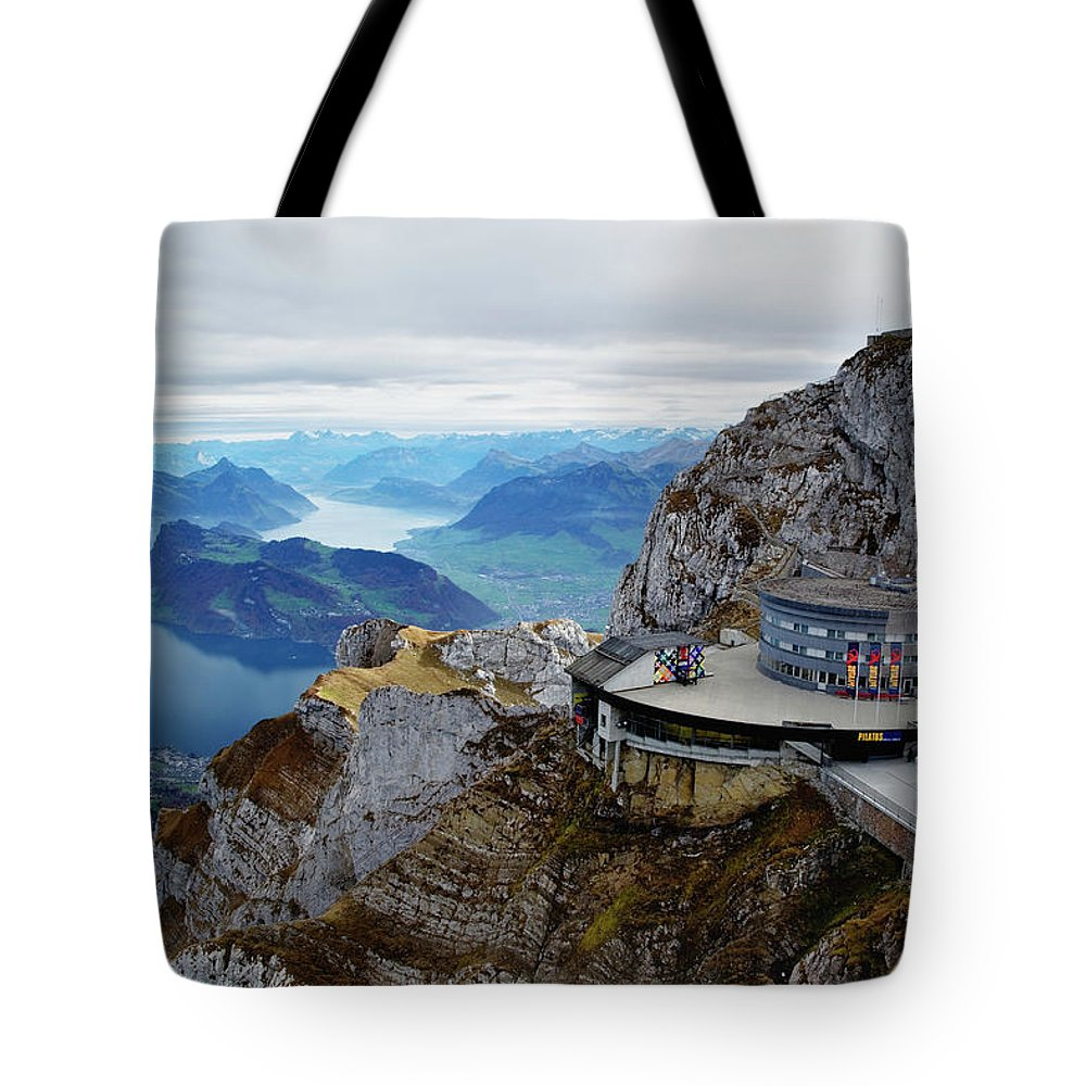 Outdoors Tote Bag featuring the photograph Switzerland, Lucerne, Lake Lucerne by Adam Jones