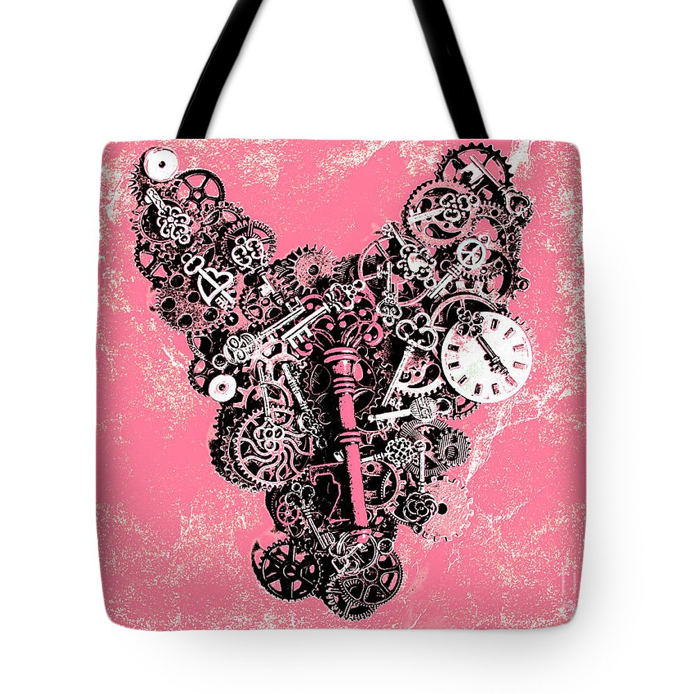 Retro Tote Bag featuring the photograph Symbiotic Sentiment by Jorgo Photography - Wall Art Gallery