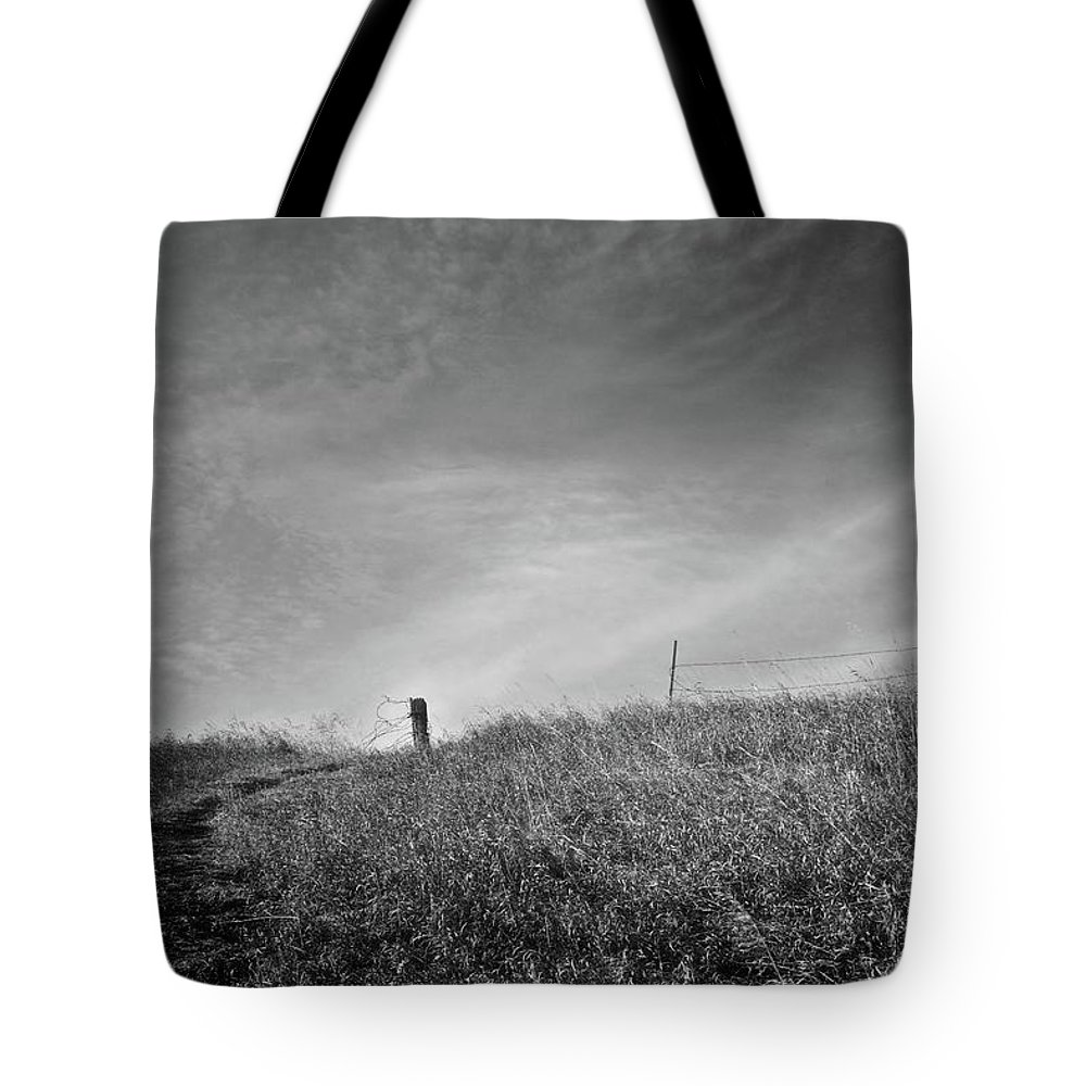 Pasture Tote Bag featuring the photograph Tangles by Carey Smith