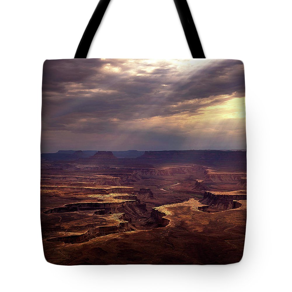Island In The Sky Tote Bag featuring the photograph The Day After by Dora Artemiadi