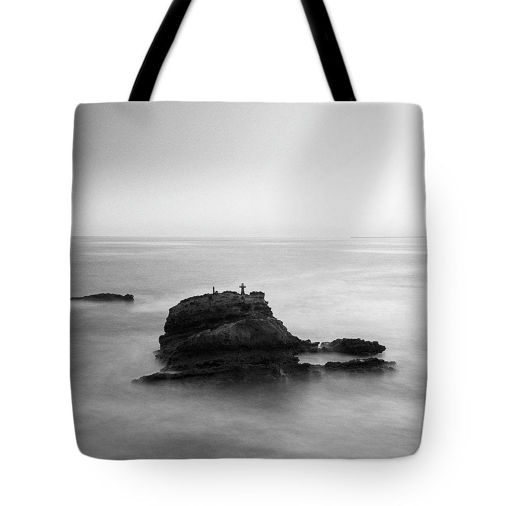 Fineart Tote Bag featuring the digital art The Feeling Of Loneliness. by Dariusz Stec