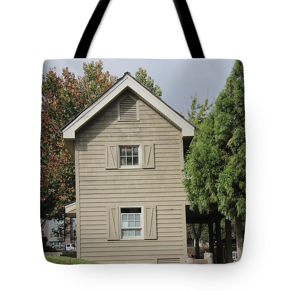 River Tote Bag featuring the photograph This Not Old House by Melvin Jamison