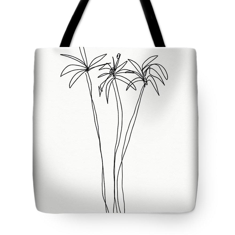 Interior Drawings Tote Bags