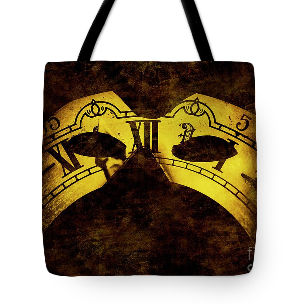 Gold Tote Bag featuring the photograph Timely by Jorgo Photography - Wall Art Gallery