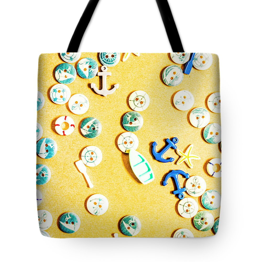 Beach Tote Bag featuring the photograph Tiny Tropics by Jorgo Photography - Wall Art Gallery