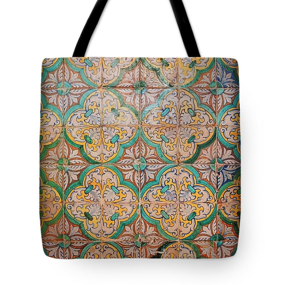 Catalonia Tote Bag featuring the photograph Traditional Hand Made And Decorated by Tracy Packer Photography