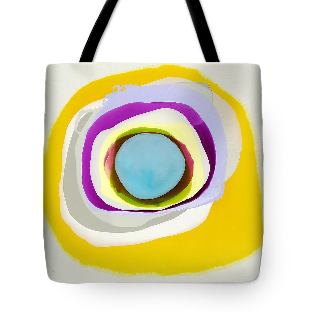 Abstract Tote Bag featuring the photograph Tranquil by Claire Desjardins