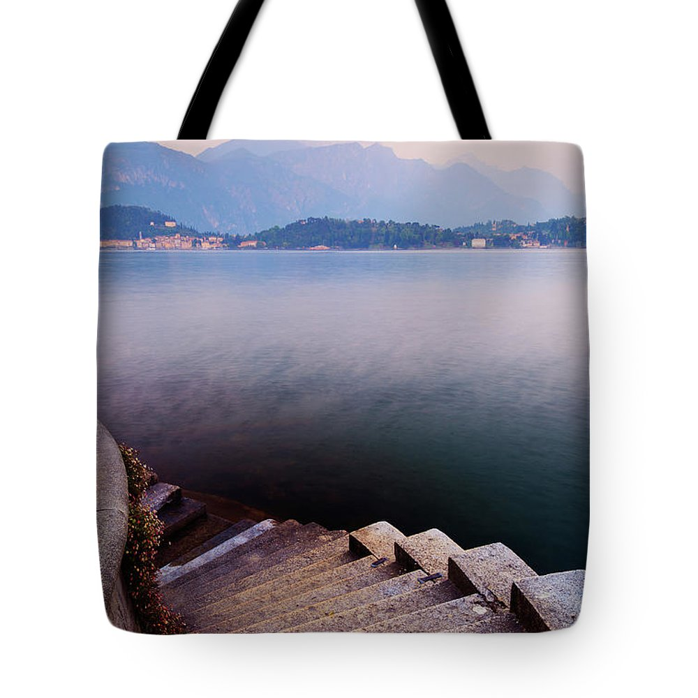 Tranquility Tote Bag featuring the photograph Tranquil by John And Tina Reid