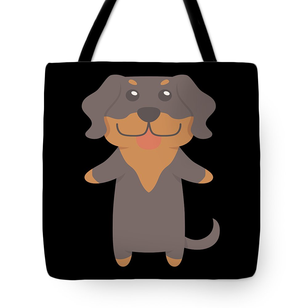 Best-dog-gift Tote Bag featuring the digital art Transylvanian Hound Gift Idea by DogBoo