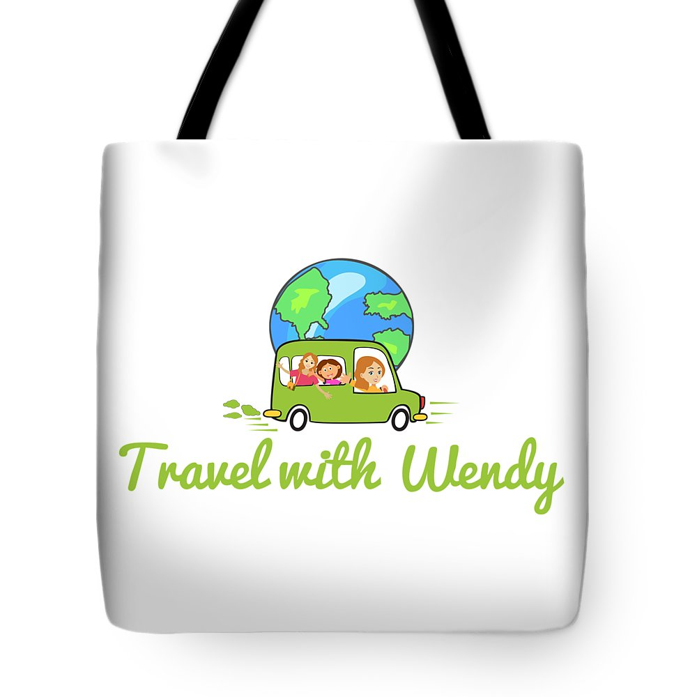 Travel With Wendy Tote Bag featuring the photograph Travel With Wendy by Wendy Payne Travel Writer