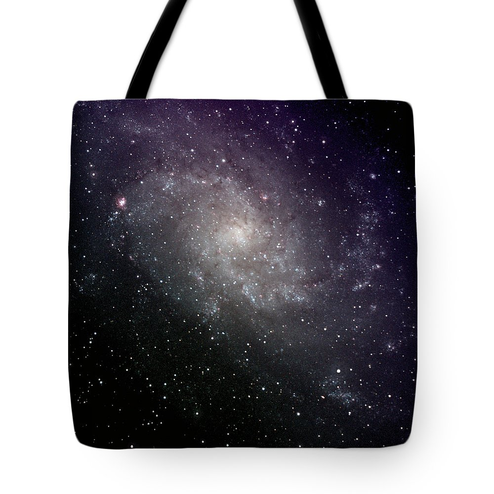 New Mexico Tote Bag featuring the photograph Triangulum Galaxy by A. V. Ley