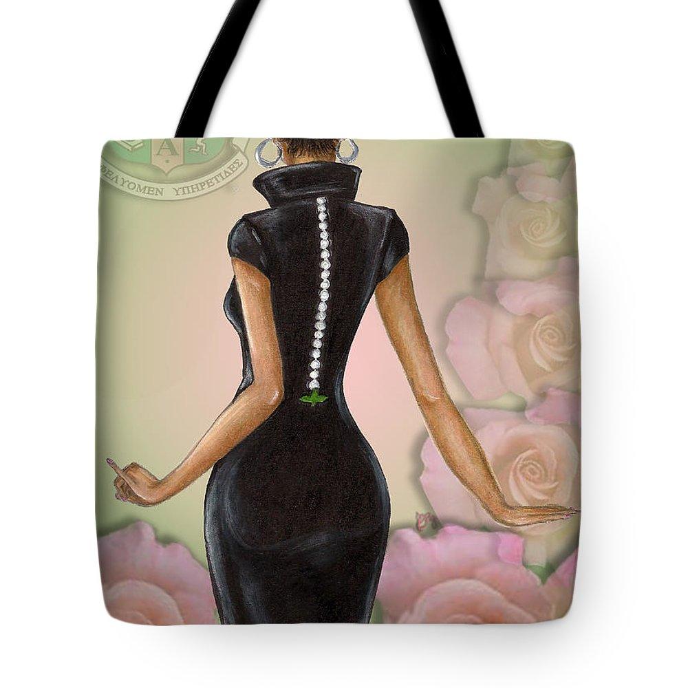 Alpha Kappa Alpha Tote Bags