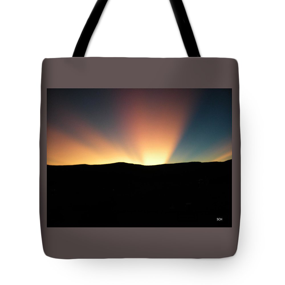 Summer Tote Bag featuring the photograph Unaltered New Mexico Sunrise by Scott Haley