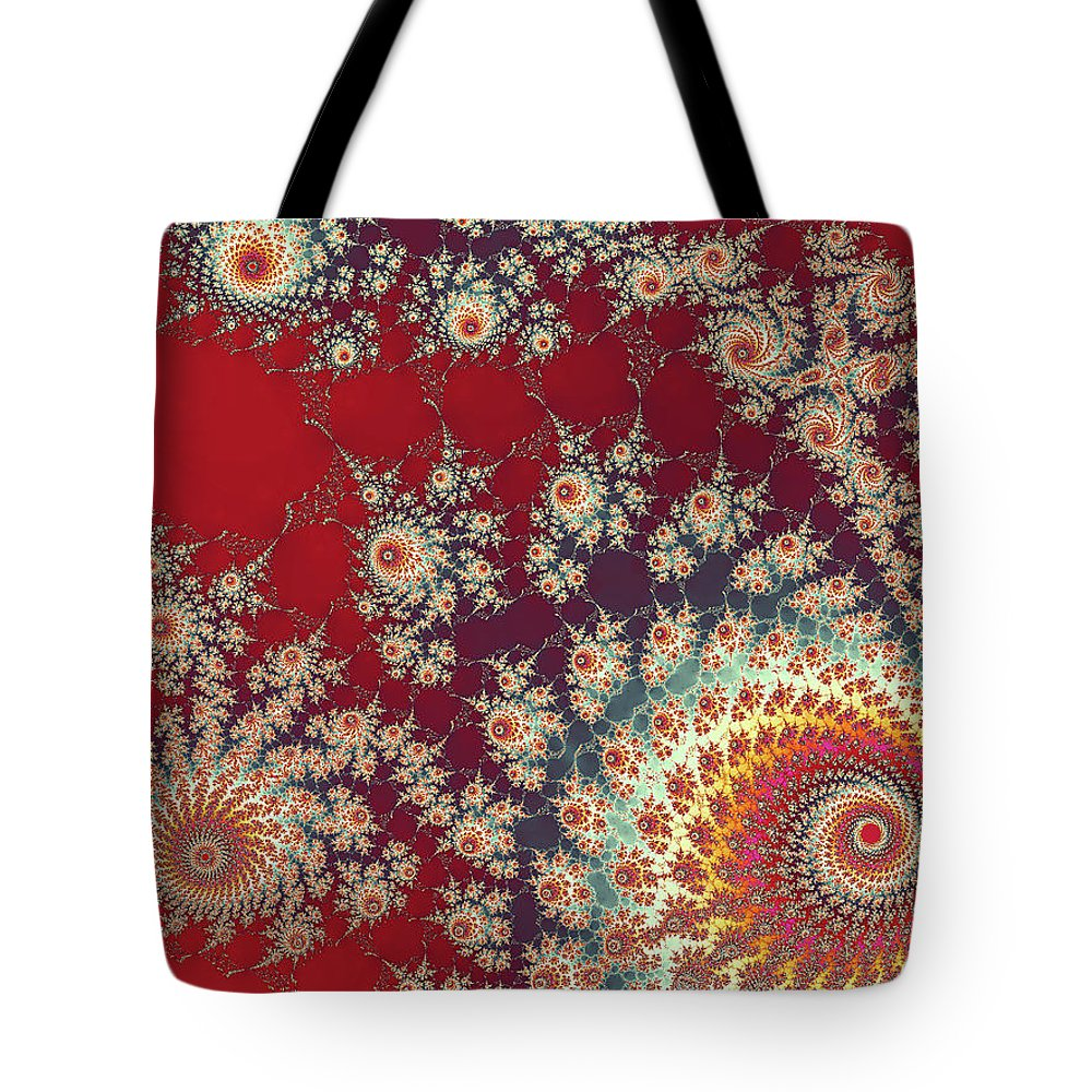 Art Tote Bag featuring the digital art Unity by Ester McGuire