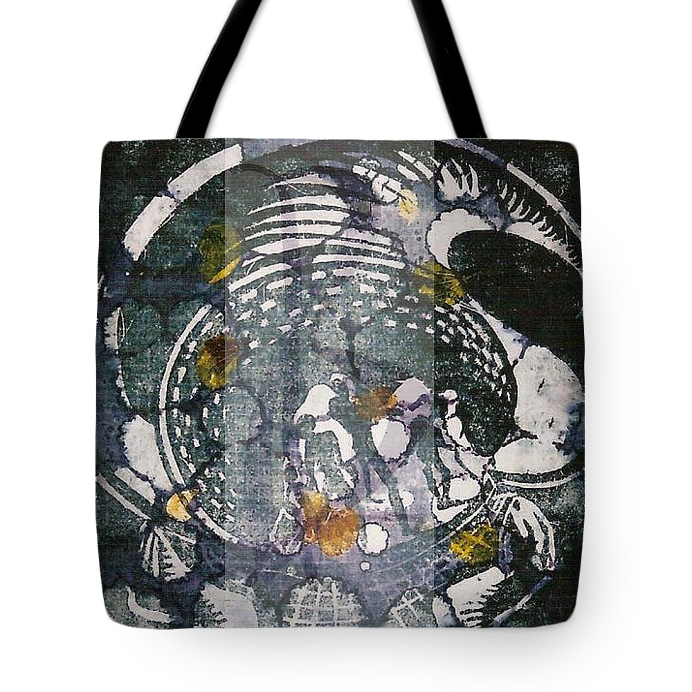 Tote Bag featuring the digital art Untitled by Beenish Liaqat