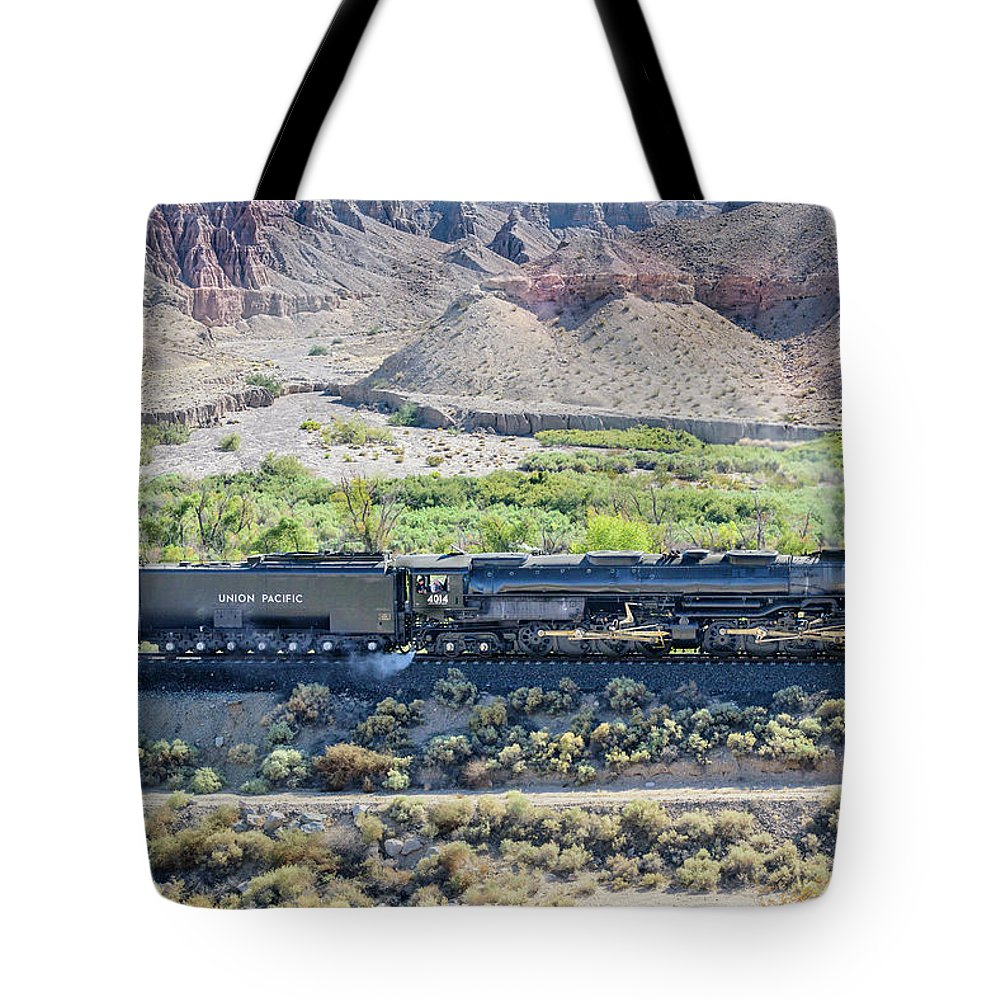 Afton Canyon Tote Bag featuring the photograph Up4014 Big Boy by Jim Thompson
