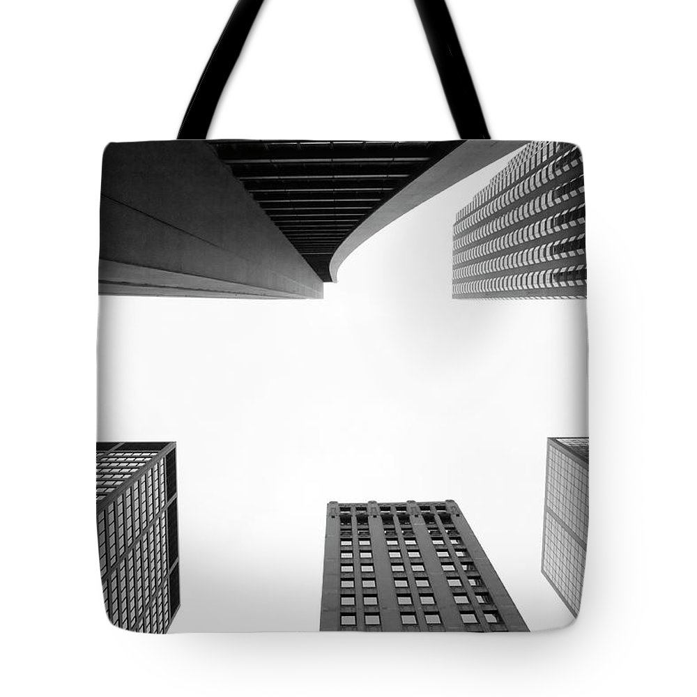Downtown District Tote Bag featuring the photograph Uptown Chicago by Jpecha