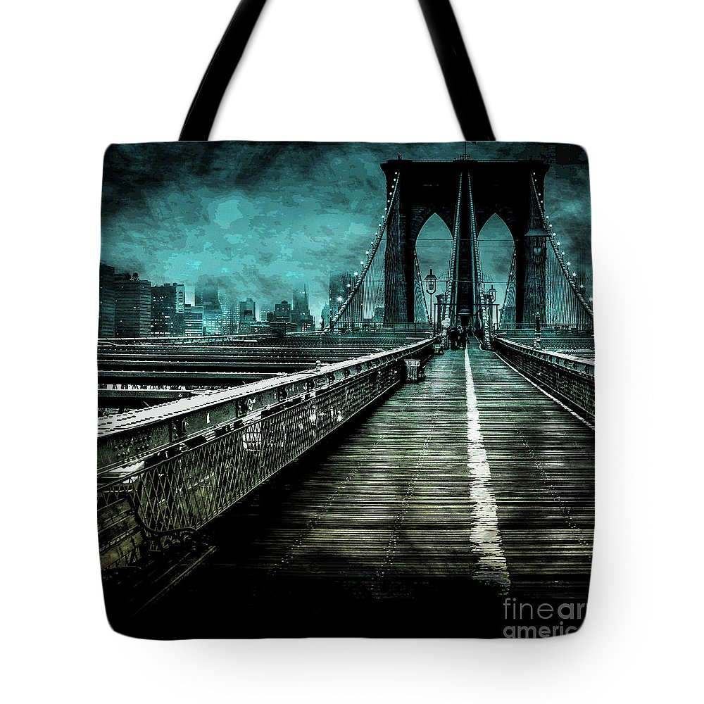 American Tote Bag featuring the digital art Urban Grunge Collection Set - 01 by Az Jackson