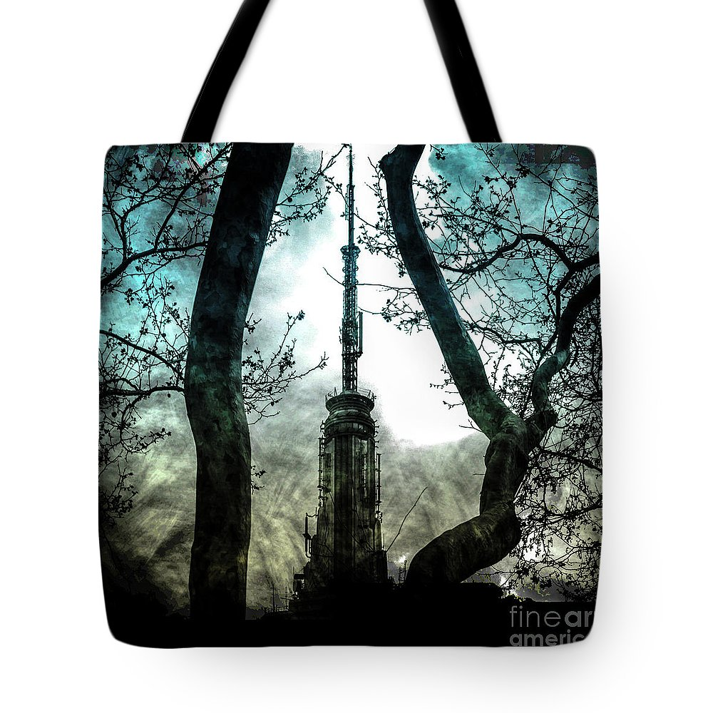 American Tote Bag featuring the photograph Urban Grunge Collection Set - 04 by Az Jackson