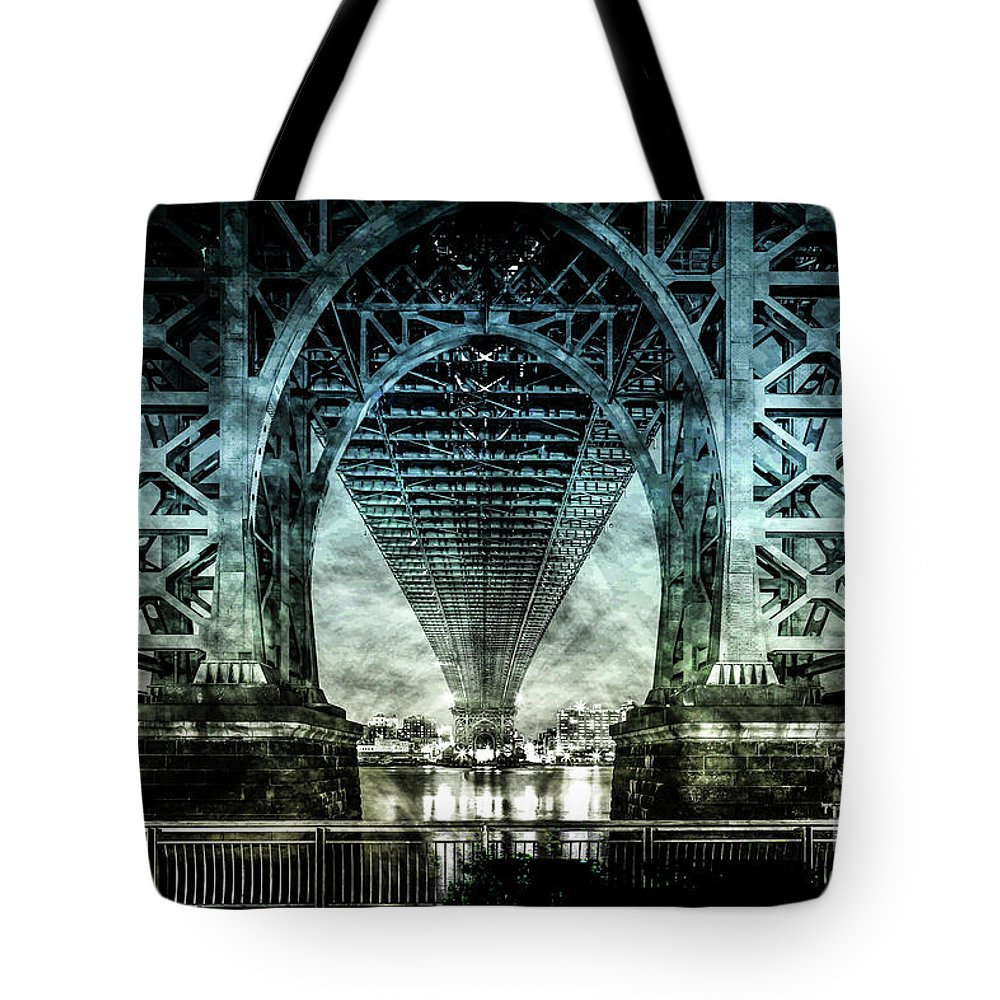 American Tote Bag featuring the digital art Urban Grunge Collection Set - 06 by Az Jackson