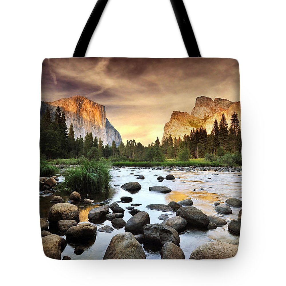Scenics Tote Bag featuring the photograph Valley Of Gods by John B. Mueller Photography