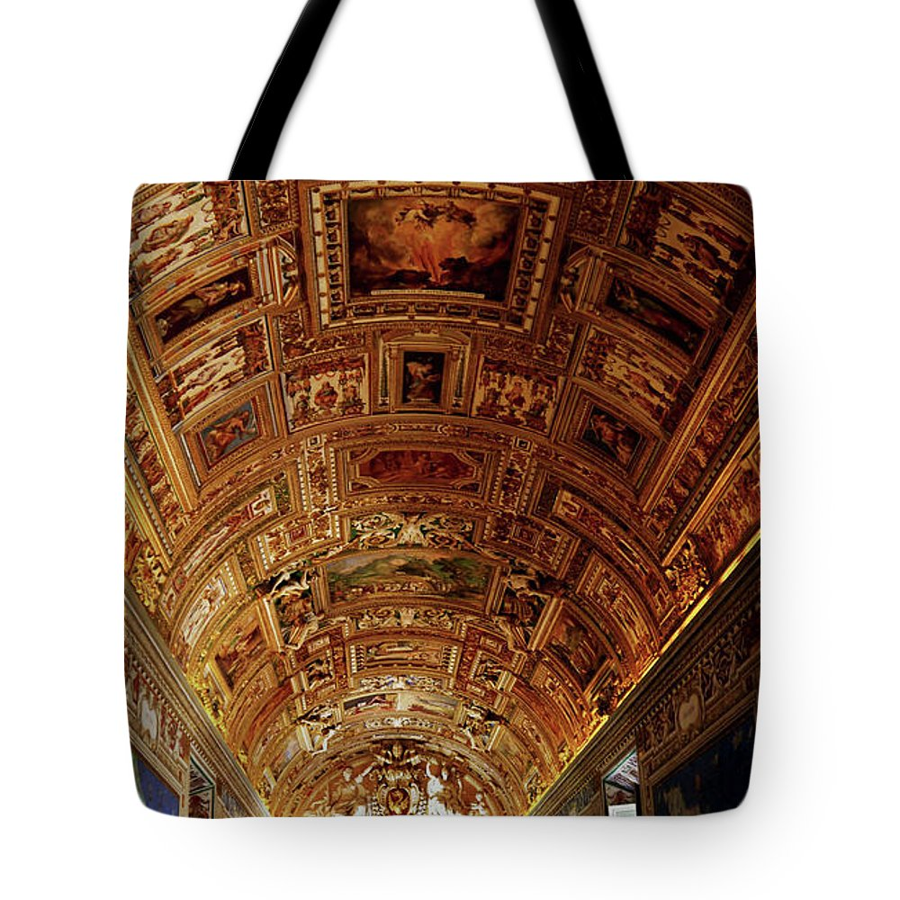 Color Tote Bag featuring the photograph Vatican City by Romaisa Hashmi