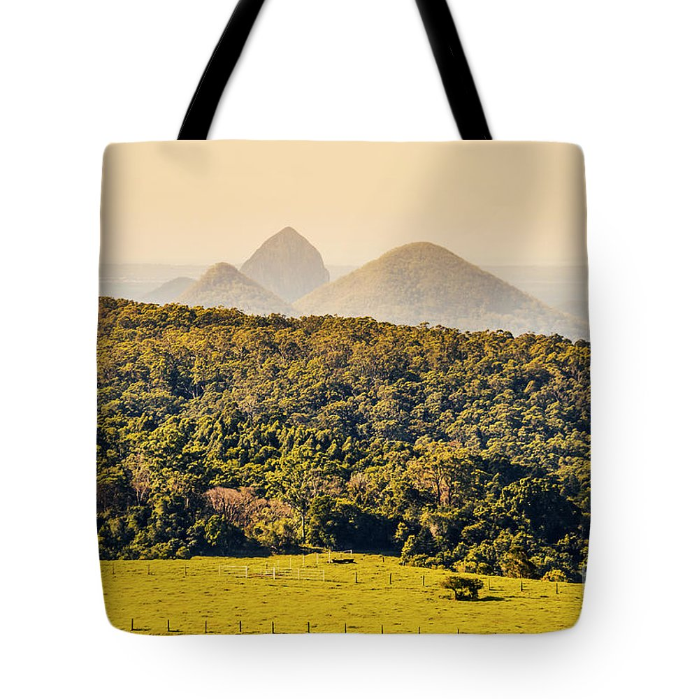 Sunshine Coast Tote Bag featuring the photograph View To The Sunshine Coast by Jorgo Photography - Wall Art Gallery