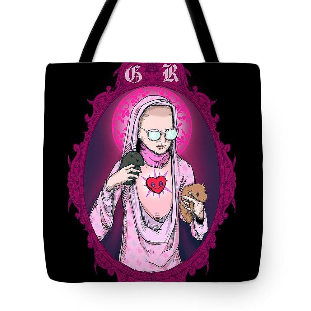 Virgin Drawings Tote Bags