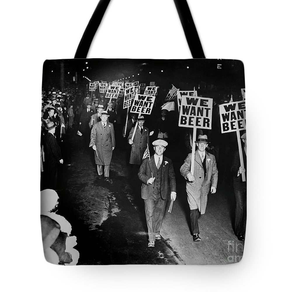 Prohibition Tote Bags