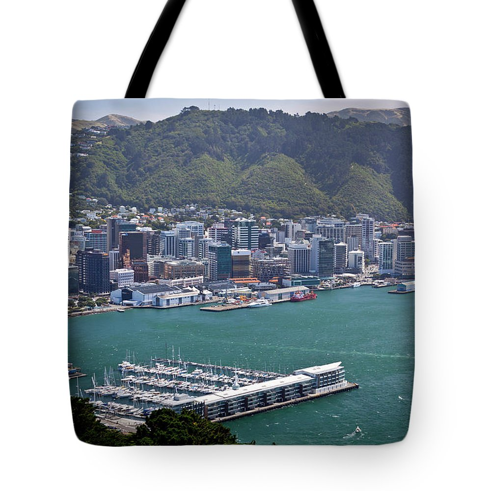 Wellington Tote Bag featuring the photograph Wellington Nz by Michael Havice