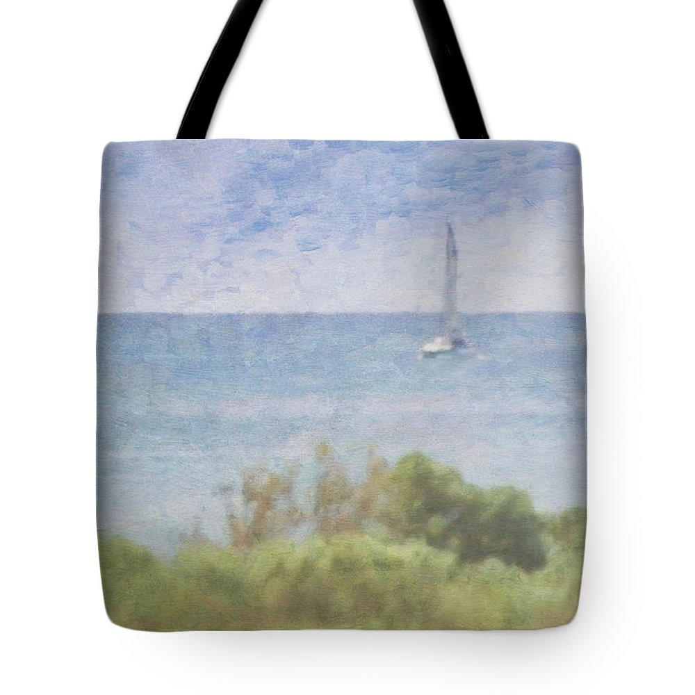 Tranquility Tote Bag featuring the photograph When Your Boat Comes In by Craig Hewson
