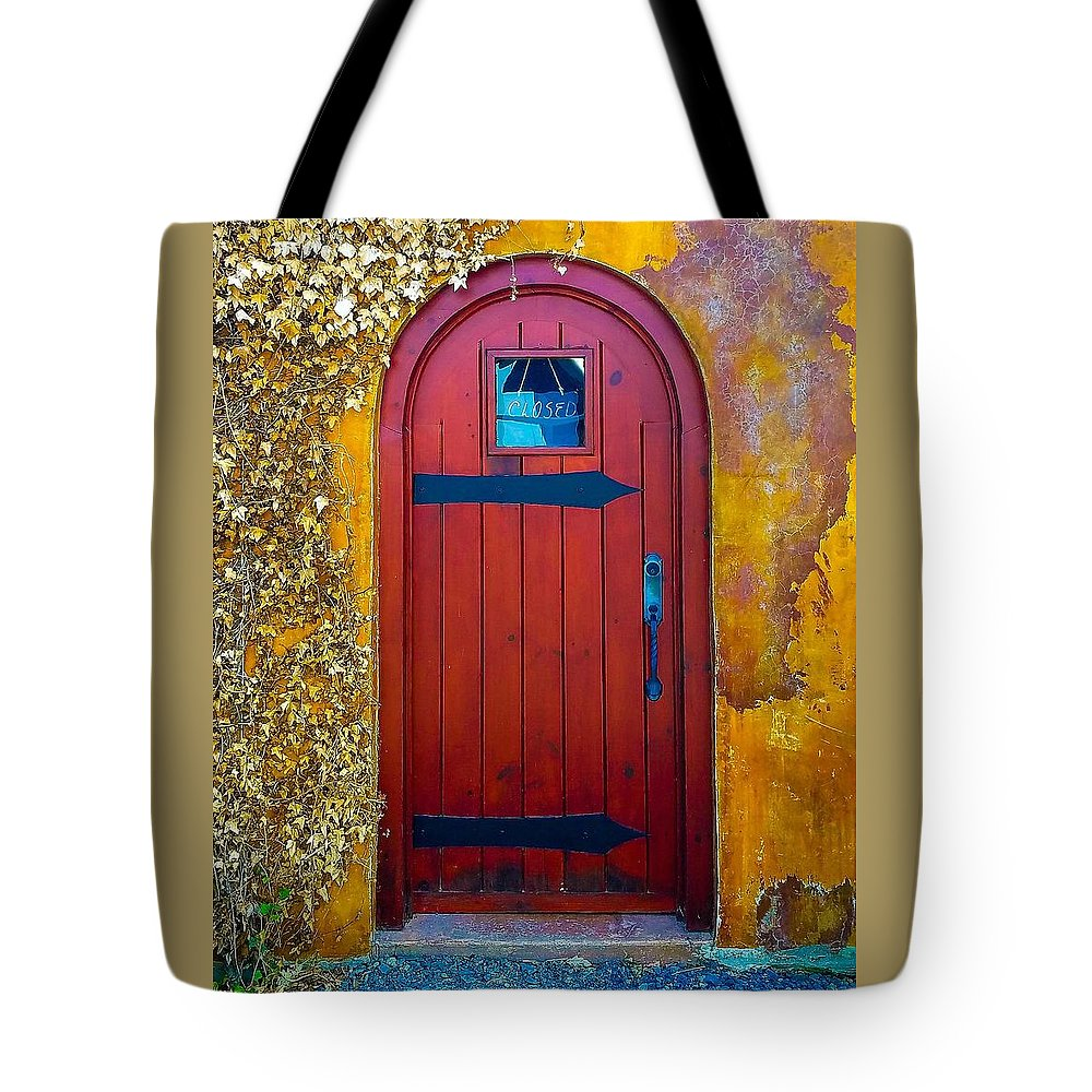Ivy Tote Bag featuring the photograph Where Now by Jennifer Loncz