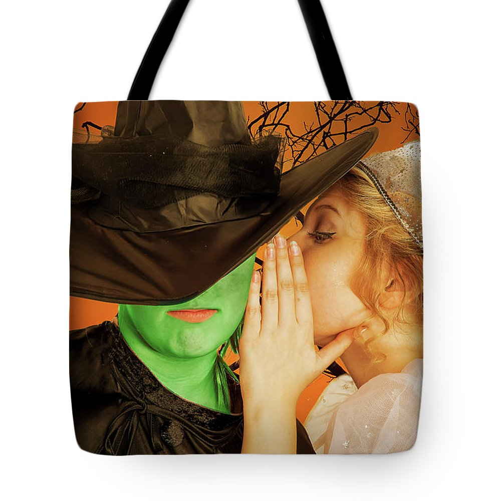 Broadway Tote Bag featuring the photograph Wicked 2 by Alan D Smith