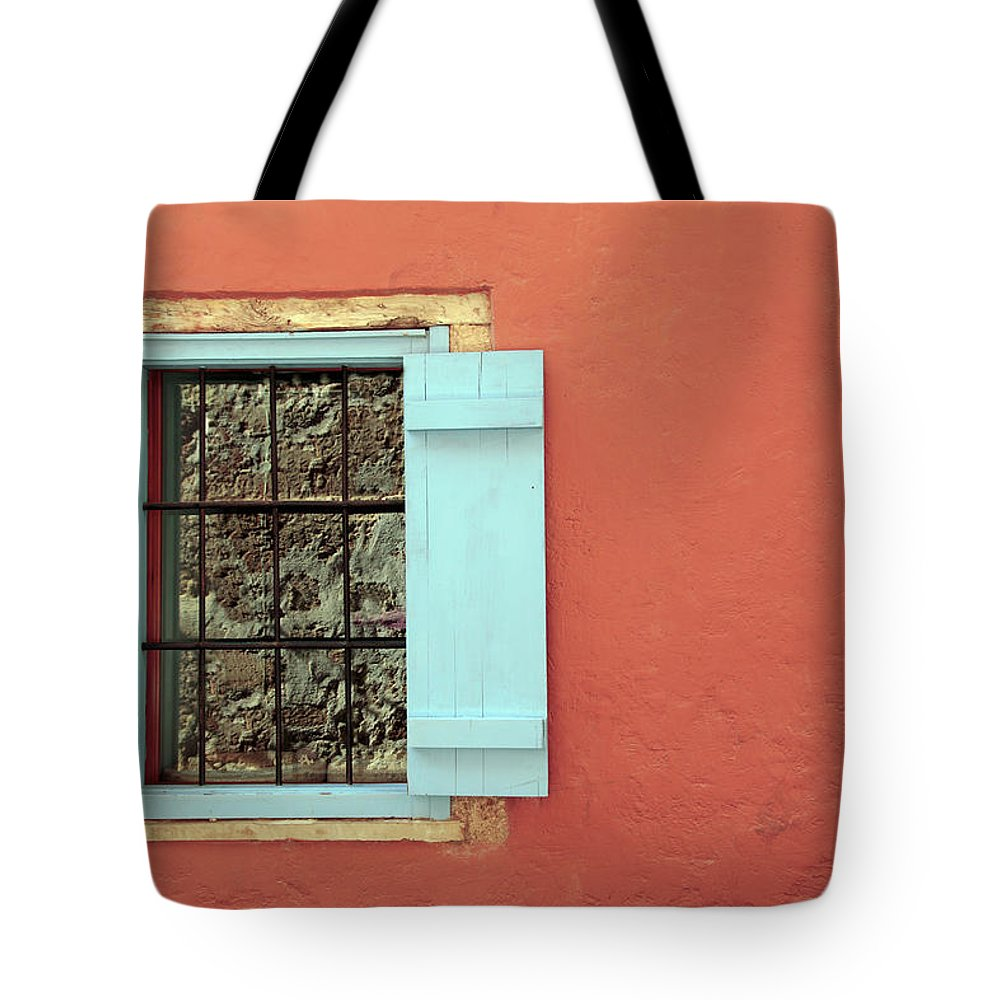 Greece Tote Bag featuring the photograph Window by Maria Toutoudaki