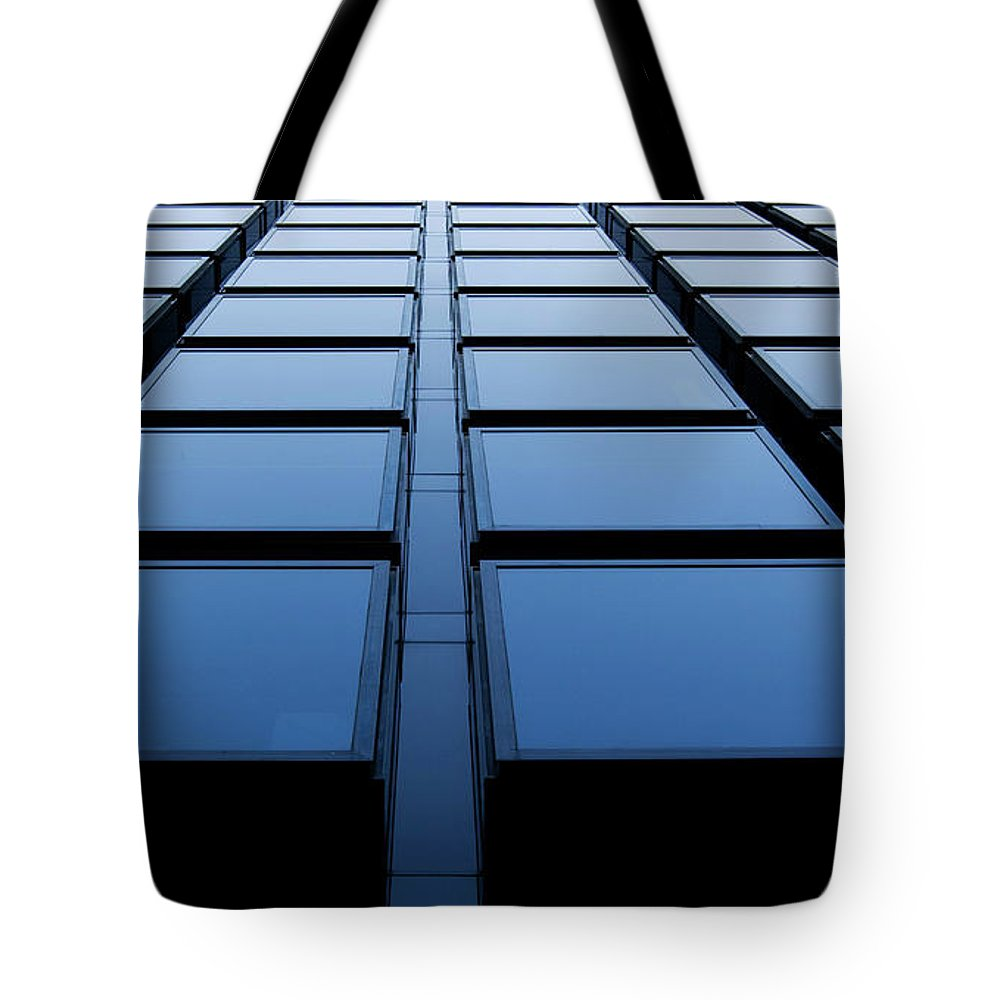 Corporate Business Tote Bag featuring the photograph Windows by Xavierarnau