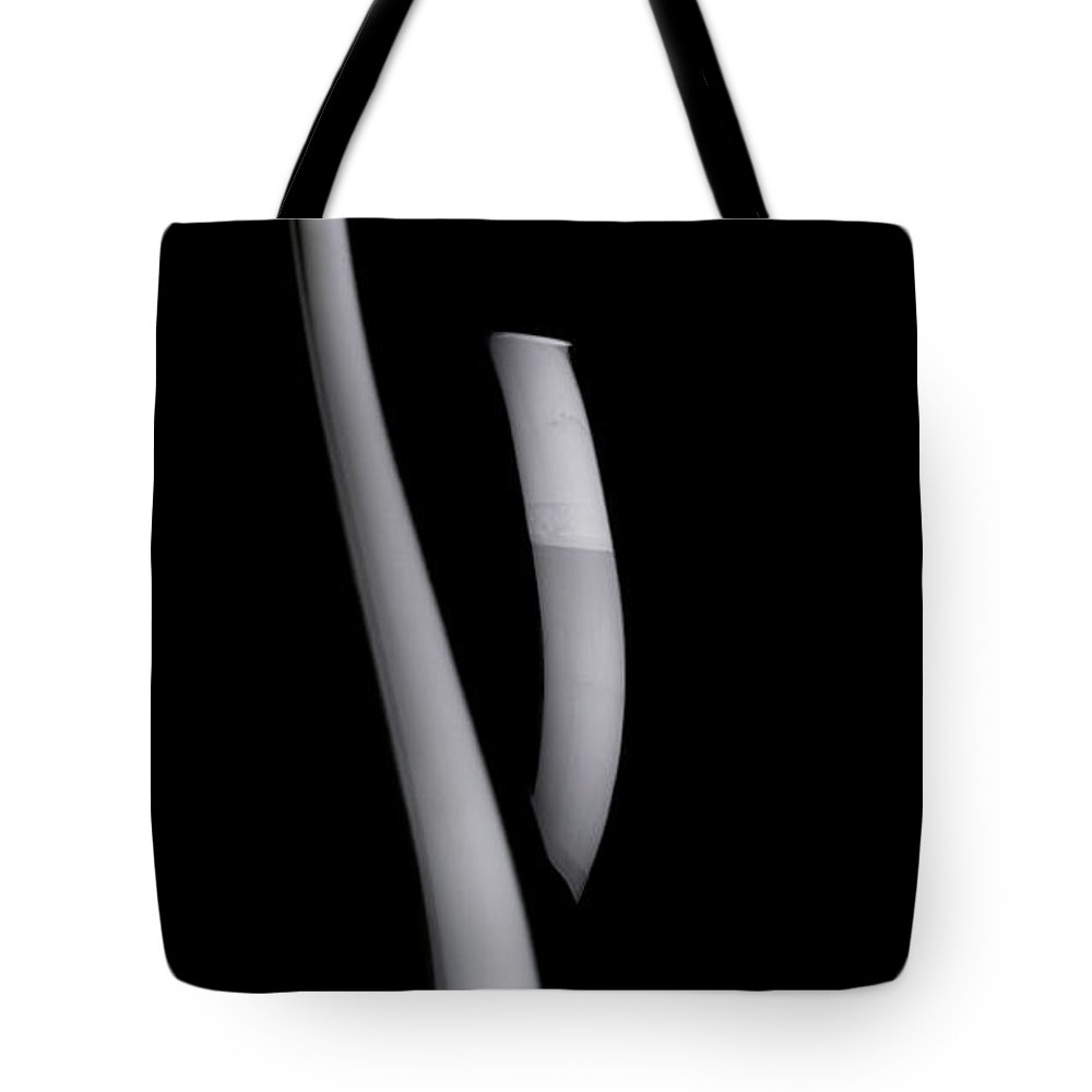 Black Background Tote Bag featuring the photograph Wine by Abile