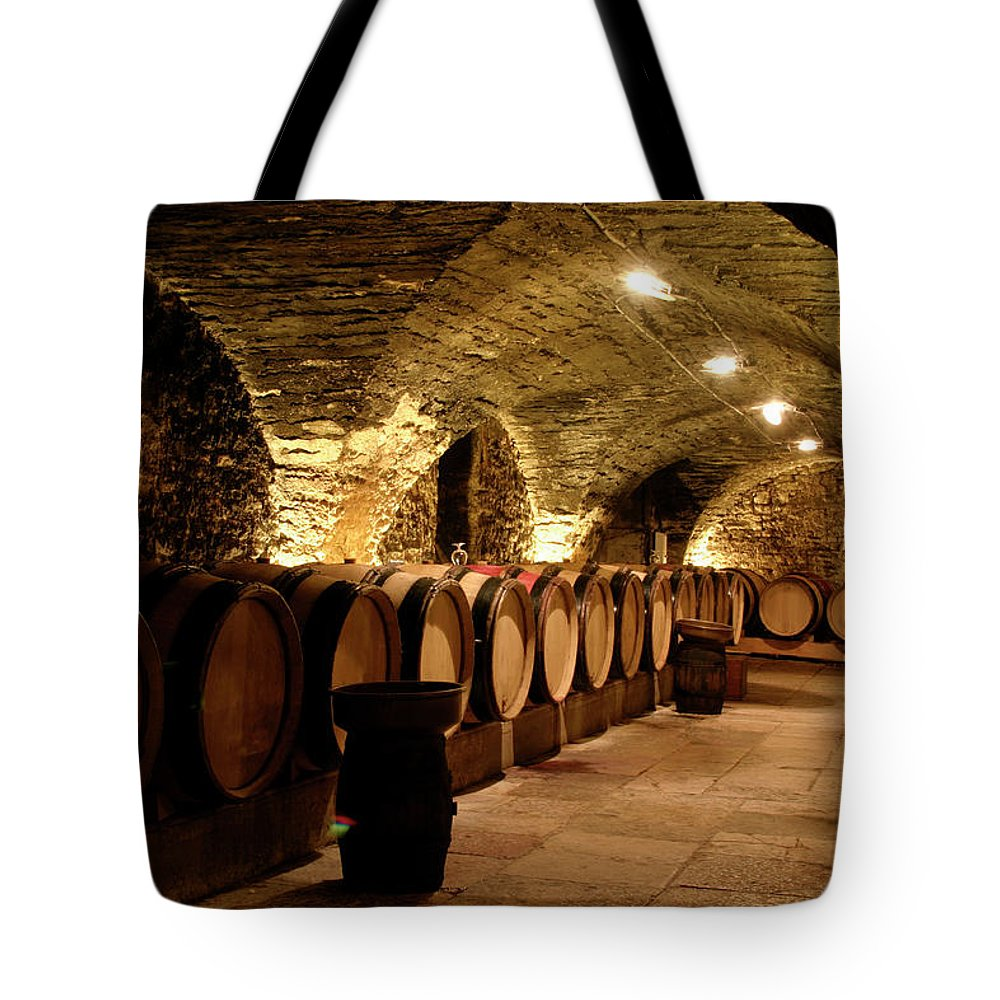 Arch Tote Bag featuring the photograph Wine Cellar by Brasil2