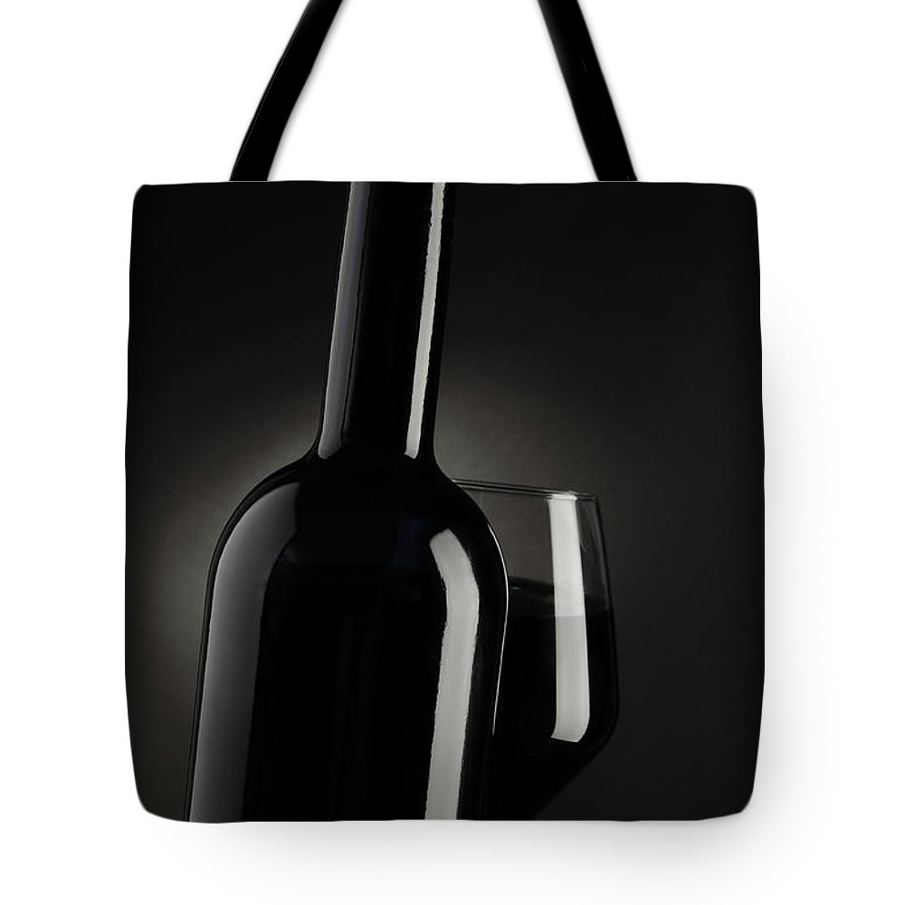 Rose Wine Tote Bag featuring the photograph Wine by Rustemgurler