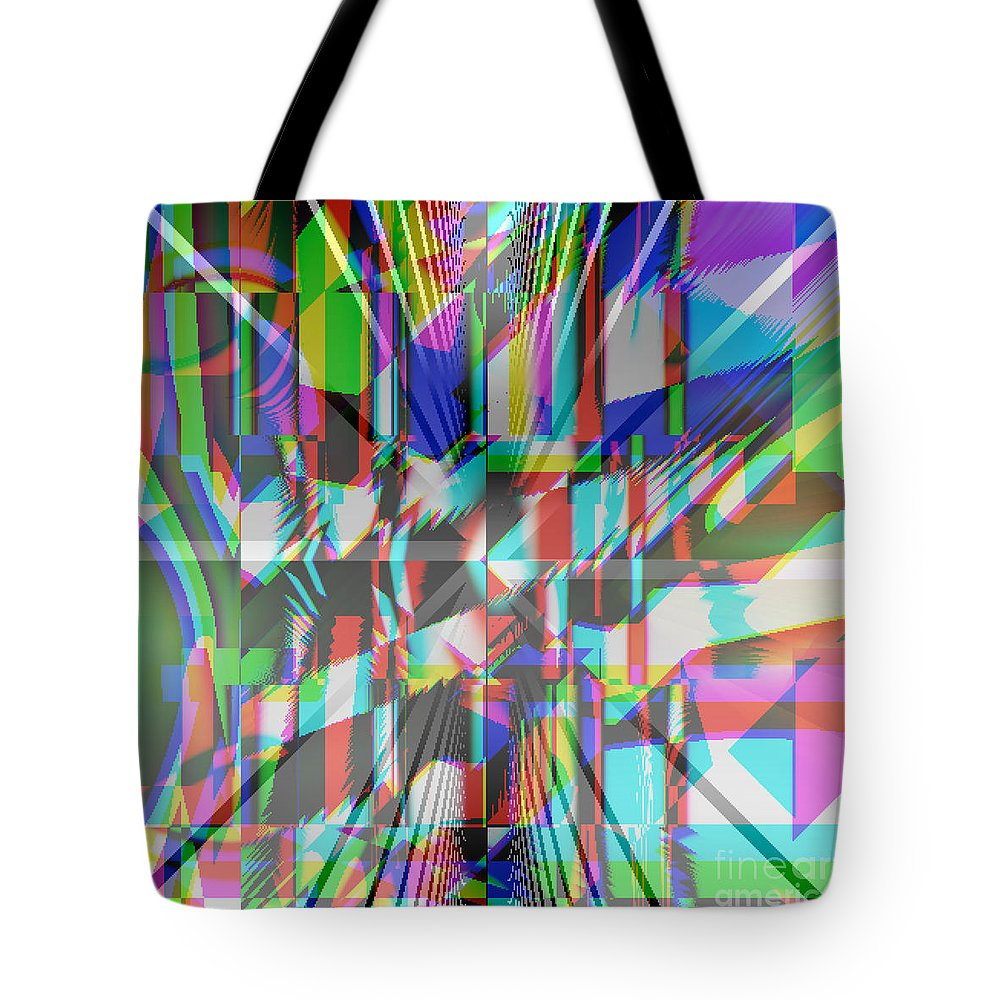 Woah Tote Bag featuring the digital art Woah by Hannah Patel