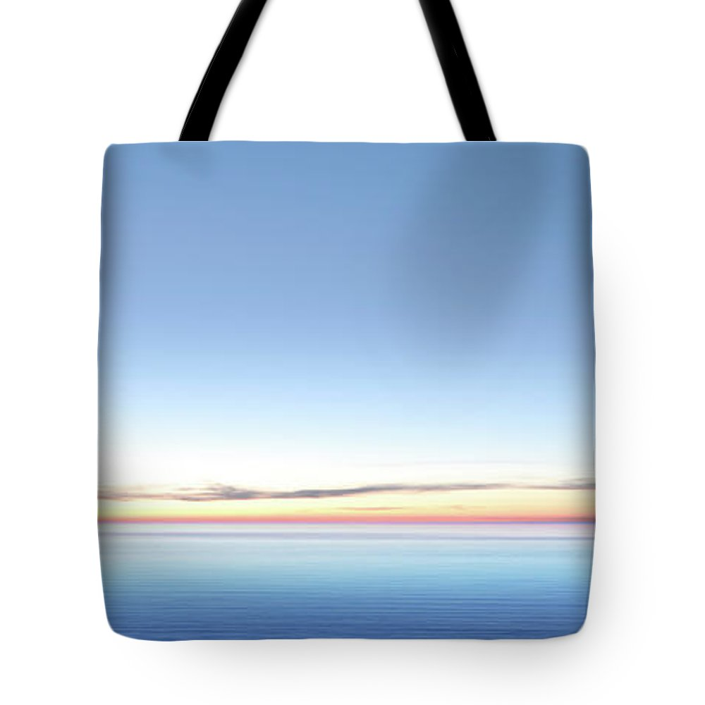 Lake Michigan Tote Bag featuring the photograph Xxl Serene Twilight Lake by Sharply done