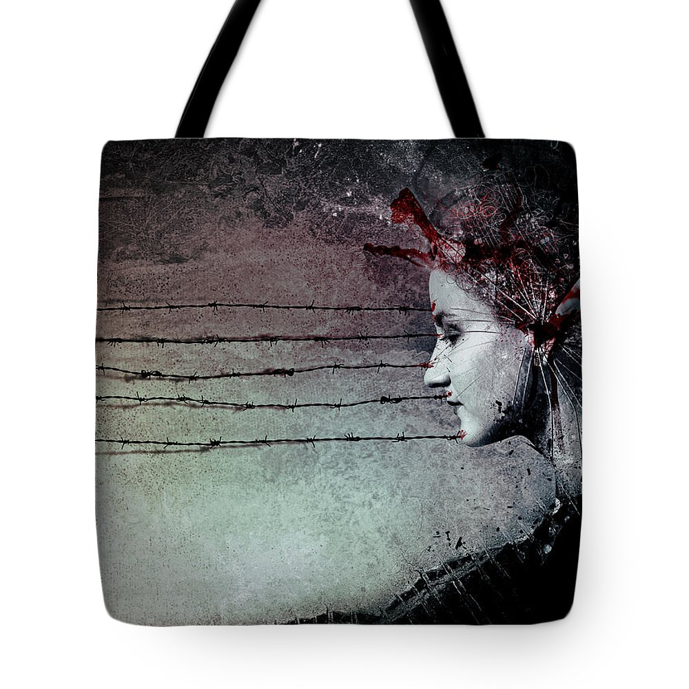 Music Tote Bag featuring the digital art You Promised Me A Symphony by Mario Sanchez Nevado